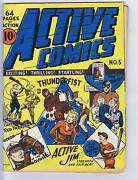 Active Comics 5 Bell Features Canadian Edition