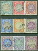 Antigua 1903-07. Stanley Gibbons 31-40 Vf, Used W/ Nice Cancels. Catalog £500