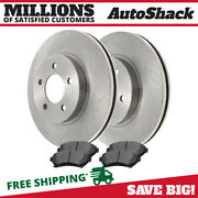 Front Disc Brake Rotors And Ceramic Pads Kit For Chevy Impala Buick Lesabre 3.8l