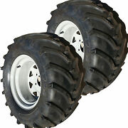 23x10.50-12 Tire Rim Wheel Assembly Lawn Mower Garden Compact Tractor Trencher