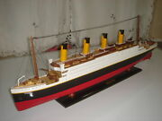 Titanic High Quality Wooden Model Cruise Ship 32 Fully Assembly