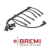 For Bmw E38 750il 95-01 Ignition Wire Set Cylinders 7-12 Oem Bremi 12121742888