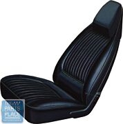 70-71 Challenger / Se / R/t Black Front Buckets Seat Covers And Hardtop Rear - Pui