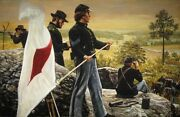 Signals From Little Round Top Don Stivers Signed Civil War Print