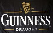 Guinness Draught Premium Polyester Flag 3and039x5and039