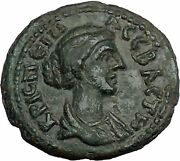 Crispina Wife Of Commodus 177ad Philippopolis Thrace Zeus Roman Coin I49838