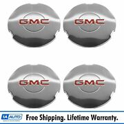 Oem 15712389 Wheel Hub Center Cap Set Of 4 Chrome For Gmc Sierra 1500 Yukon Xl