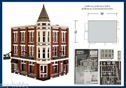 N Scale Davenport Department Store Structure Kit - Woodland Scenics Pf5214