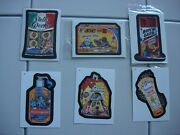 Wacky Packages Ans 4 Album And B1-2-3-4-5-6 Bonus Stickers