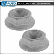 Oem 10257766 Axle Spindle Nut Pair Set Of 2 Direct Fit For Chevy Gmc Buick Caddy