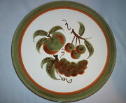 Stangl Pottery: ORCHARD SONG #5110; 1962: Large Round Chop Plate Platter: VGC:NR