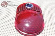 25-30 Chevy Blue Dot Ornament Rear Taillight Tail Light Lamp Glass Lens New