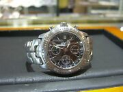 Menand039s Automatic Tag Heuer Link Chronometer Officialy Certified 200m Date Ct5111