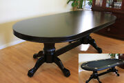 95 Solid Wood Poker Table Plus Dining Top