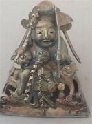 Antique Chinese Silver Figure / Cover / Amulet/ Statue M499
