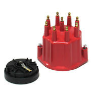 Pertronix Distributor Cap And Rotor Kit D600711 Flame-thrower Hei Male Red