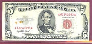1953e5 United State Note-fold Over-fr1532