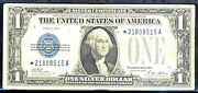 1928a 1 Star Silver Certificate Blue Seal-fr1601