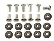 1970-1972 Camaro Bumper Bolt Set Mounts Front And Rear Chrome Bumpers Ss Z28