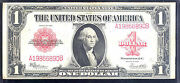 1923 1 United State Note- Red Seal