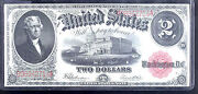 1917 2 United State Note- Red Seal