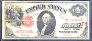 1917 1 United State Note- Red Seal