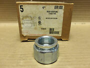 New American Fittings Corp Rigid 3-piece Coupling 1 Er100 Box Of 4