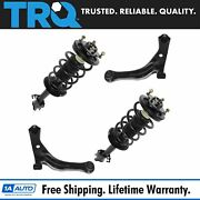 Trq Front Suspension Struts Lower Control Arms Kit Set Of 4 For Ford Mazda Suv
