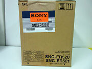 Sony Snc-er520 Network Rapid Dome Camera 36x Optical Zoom 360anddeg Endless Rotataion