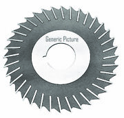 10 X 1/4 X 1-1/2 Hss Metal Slitting Saw With Side Chip Clearance