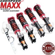 Godspeed Maxx Mmx2830 Coilovers Strut Camber Plate Kit For Toyota Mr2 91-95 Sw20