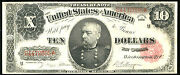 1891 10 Fr-370 Treasury-only 163 Known-rare In Circulated And Common In Unc