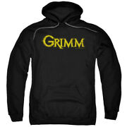 Grimm Police Drama Supernatural Tv Series Nbc Gold Logo Adult Pull-over Hoodie