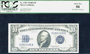 1934b 10 Fr1703 Sc-2nd Rarest 10 After 1933-pcgs 50-only 33 In This Grade