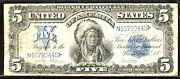 1899 5 Fr 281 Large Size Silver Certificate