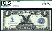 1899 1 Fr 228 Silver Certificate - Pcgs 66 Ppq- 17 In This Grade