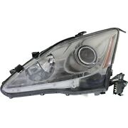 Headlight For 2006 2007 2008 Lexus Is250 Is350 Left Clear Lens Hid