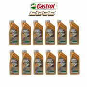 12 Liter Pack 10w60 Castrol Edge Synthetic Engine Motor Oil 4-for Bmw M3 M5 M6