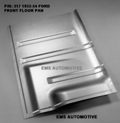Ford Mercury Front Floor Pan Floorboard Right 1952-1954 317r Ems