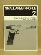 Vtg 1971 Small Arms Profile 2 Browning Automatic Pistol Hi-power Book Magazine