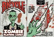 Zombie Deck Bicycle Playing Cards Poker Size Uspcc Limited Edition New And Sealed