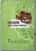 Viewmaster Marketing Book And Point Of Sell Material. 8 Pages + Inserts. Rare