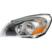 Headlight For 2011 2012 2013 Volvo S60 Left Clear Lens With Bulb