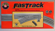 Lionel Fastrack 048 Remote/command Switch Left Hand O Gauge Train 6-81949 New