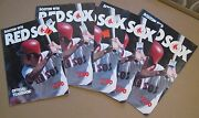 Five 1976 Boston Red Sox Yearbooks Fred Lynn On Covers Yaz Rice Lynn Fisk +