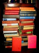 Lot Of 10 Old Vintage Books Unsorted Collectible Antique Hard To Find