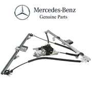 For Benz W463 G-class Front Driver Left Window Regulator With Electric Motor Oes