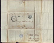 Puerto Rico 1847 Entire Letter To Bangor Maine