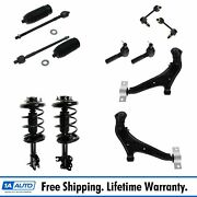 Steering And Suspension Kit Set Of 12 Control Arms Sway Links Tie Rods Struts New