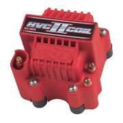 Msd Ignition Coil 8261 Hvc 2 Red 45,000 Volts U-core Hei Male